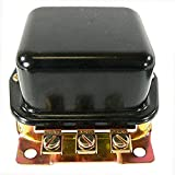 DB Electrical GFD6000 External Regulator for Ford 2N 8N 9N Tractor / 6 Volt Positive Ground A-Circuit 3-Terminal Bat-Arm-FLD 10-12 Amp / 8N-10505C GR276