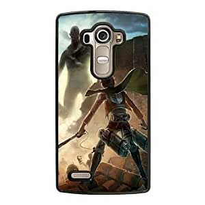 Grouden R Create and Design Phone Case,Eren Jaeger from Attack on Titan Cell Phone Case for LG G4 Black + 1*Touch Stylus Pen (Free) GHL-2875630