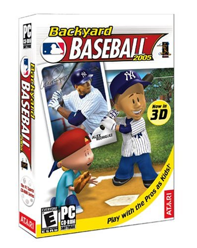 Backyard Baseball 2005 - PC (Backyard Stars)