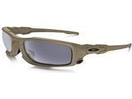 6d452fd459a7e Amazon.com  Oakley Si Ballistic Shocktube in Terrain Tan with Grey Lens   Sports   Outdoors