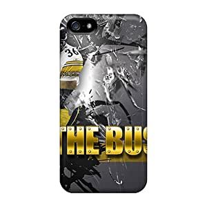 Tough Iphone VLC5039IBjk Cases Covers/ Cases For Iphone 5/5s(pittsburgh Steelers)
