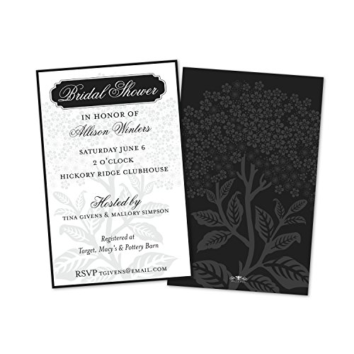 (Hydrangea Personalized Wedding Shower Invitations (Set of)