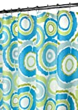 Penneys Curtains Park B. Smith Groovy Circles Watershed Shower Curtain, Pop Blueberry
