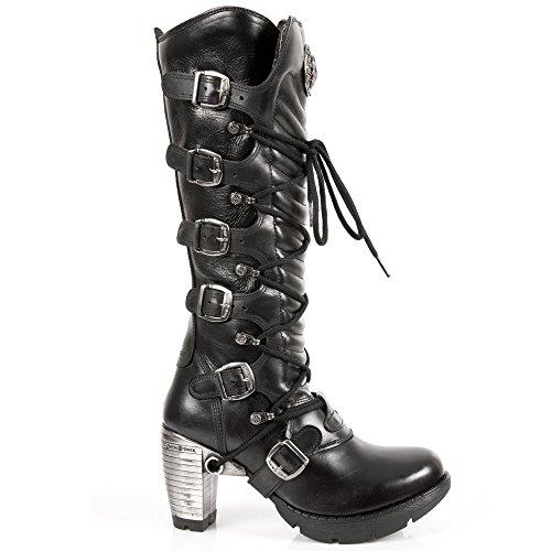 New Tr004 s1 Black Black Femme Bottes Rock qSqZvwB