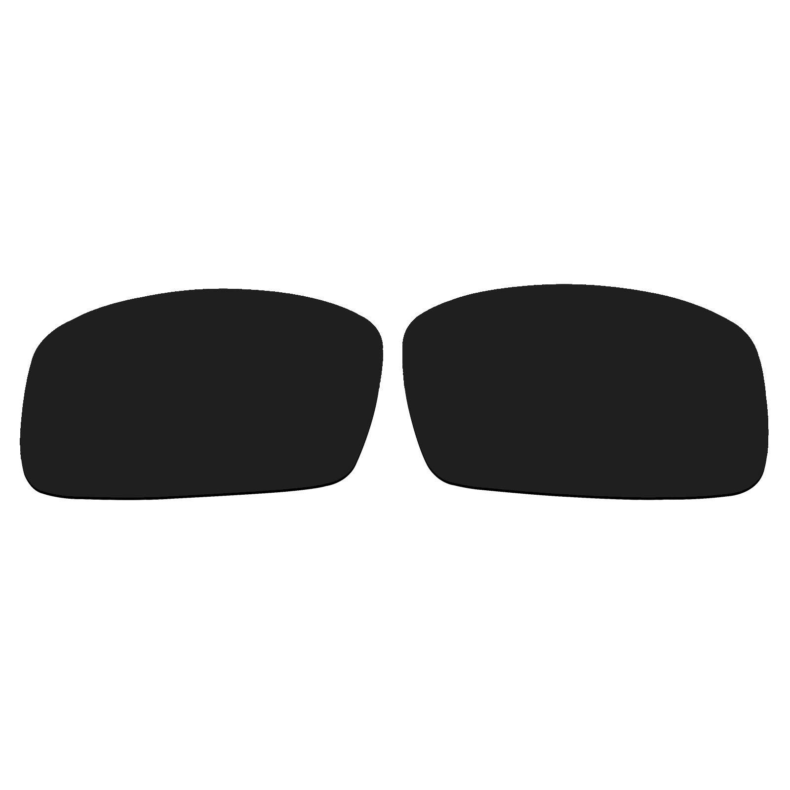 Polarized Replacement Sunglasses UV Lenses for Spy Optic General - Black