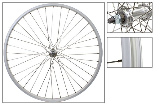 WheelMaster Front 26 x 1.75/2.125, Silver, Alloy, B/O, 36H, SS 14g Spokes