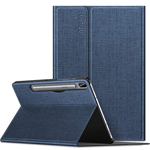Infiland Galaxy Tab S6 10.5 Case, Multiple Angle Stand Case Fit Samsung Galaxy Tab S6 10.5 Inch Model SM-T860/T865/T867 2019 Release, Support S Pen Wireless Charging, Auto Wake/Sleep 201908USA0542D4-E