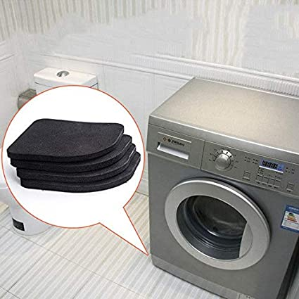 Bathroom Hardware 4pcs Multifunctional Refrigerator Washing Machine Anti-vibration Pad Mat