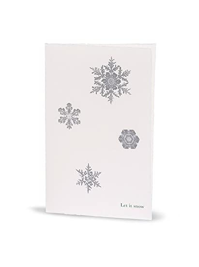 lady winter cards paper 15034 silver seasons elegant christmas cards from real handmade with snow - Elegant Christmas Cards