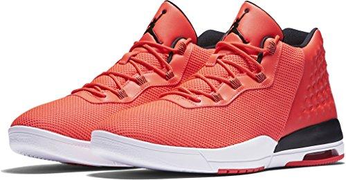 Nike Air Jordan Academy Heren Hi Top Sneakers 844515 Sneakers Schoenen (us 12, Infrared 23 Zwart Wit 605)