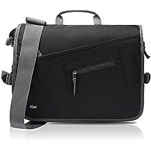 Qipi Messenger Bag - Shoulder Bag for Men & Women, 11 12 13 14 inch Laptop Pocket