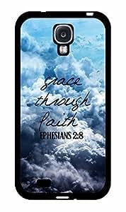 Grace Through Faith Plastic Phone Case Back Cover Samsung Galaxy S4 I9500