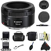 Canon EF 50mm f/1.8 STM Lens + Pixi-Advanced Accessory Bundle Key Pieces Review Image