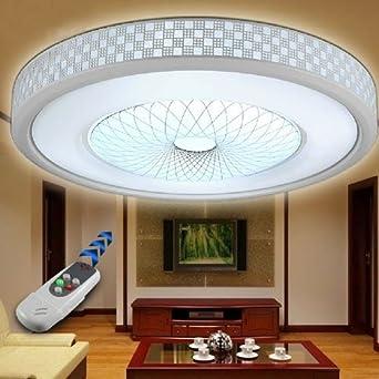 LightintheboxR Moderne LED Deckenleuchten Wohnzimmer Deckenlampe Fernbedienung Voll Dimmbar Lampe 420mm420mm