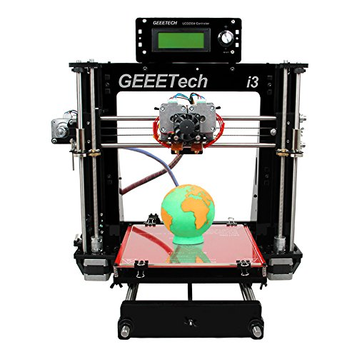 - Geeetech I3 Pro C, Dual Extruder,double Head,reprap Pursa I3 3d Printer,two-color Printing, High Resolution