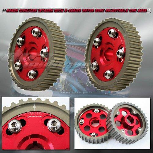 a Integra Dohc Adjustable RED CAM Gear (Dohc Cam)