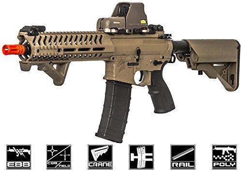 Lancer Tactical Elite Electric Recoil Multi Mission 10.5 RIS Carbine (MMC) AEG (Tan/Polymer)
