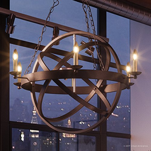 Luxury Vintage Chandelier, Medium Size: 32