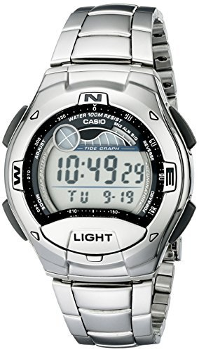 Casio Men's W753D-1AV Moon Phase Tide Graph Sport Watch by Casio