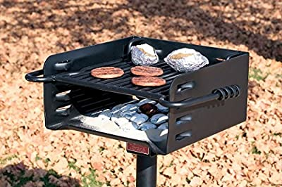 Heavy-Duty Park-Style Grill - Model# H-16 B6X2
