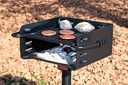 Pilot Rock Heavy-Duty Park-Style Grill – Model H-16 B6X2