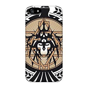 Bumper Hard Phone Cover For Apple Iphone 5/5s (gdr470VFSp) Provide Private Custom Fashion Orphaned Land Band Pictures