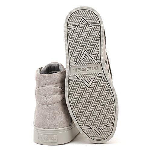 Diesel Uomo Dove Grigio S-Vipe Mid Sneaker Dove Grigio