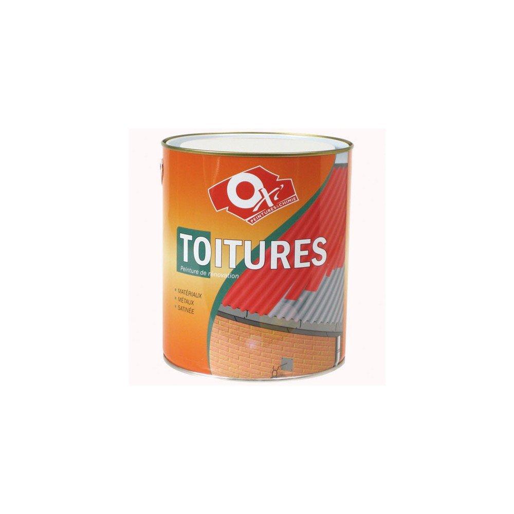 Oxi STOIC2.5R Peinture spé cial toiture 2, 5 L Rouge DURIEU