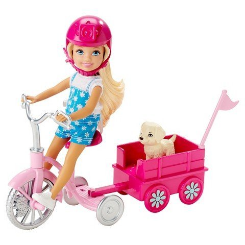 Barbie Chelsea Pup Mobile Playset