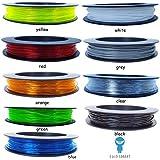 SAINSMART TPU Flexible Filament 1.75MM 50g Splash Spool Black