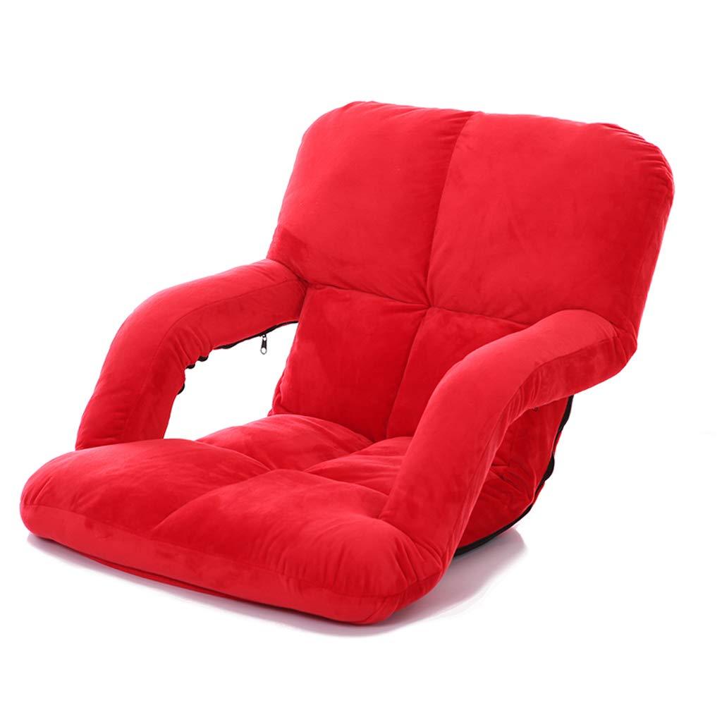 GHM Campingstuhl Boden Stuhl 5 Dateien Einstellbare Faltbare Bay Windo Stühle Einzel Sofa Freizeit Recliners Last 100 kg