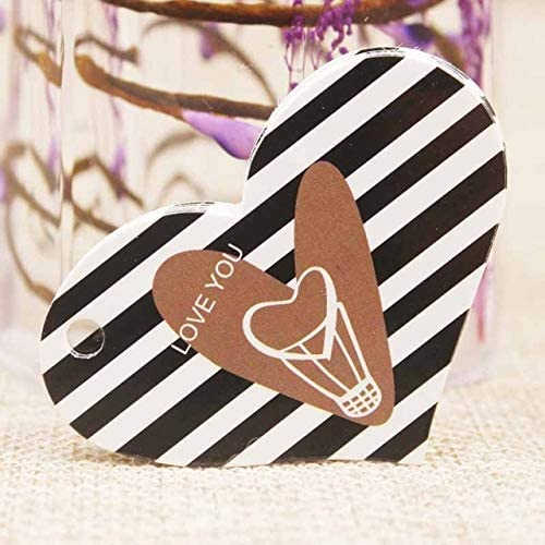B07VD5BF9L OBELLA BOUTIQUE Feiluan 1000pc gold foil love wedding tag card DIY paper handmade gift swing hang tag card pink heart married favors tag card 51M9RXr2vdL