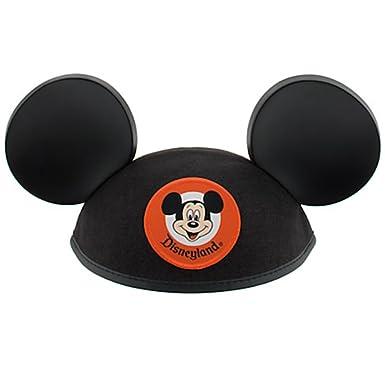 d62d9e5e852a6 Amazon.com  Disneyland Mickey Mouse Ears Black Hat - Adult - Disney Parks  Exclusive  Clothing