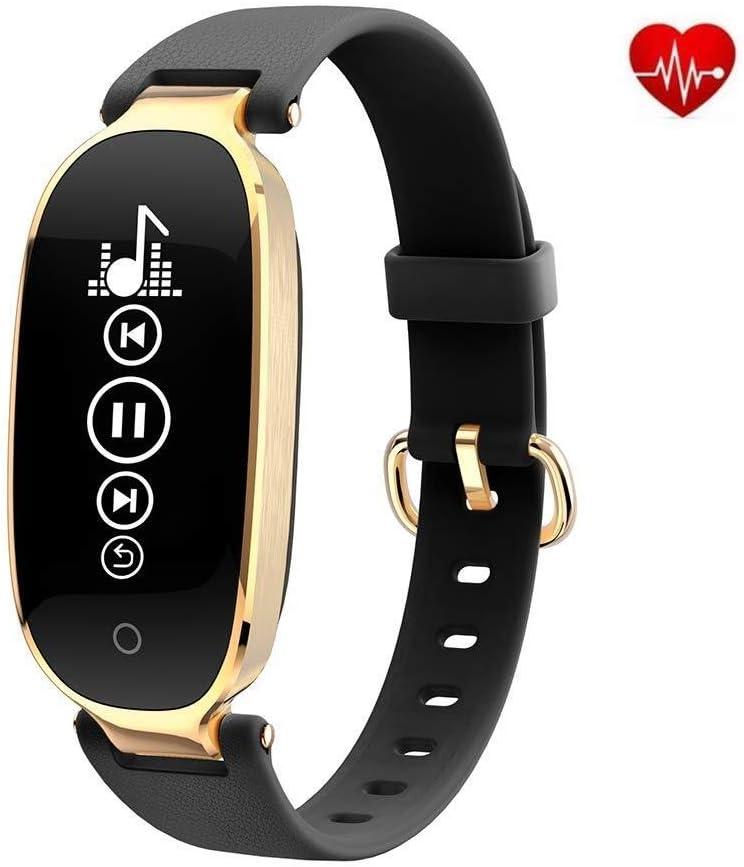 Reloj Inteligente, Ritmo Cardíaco Durante Todo El Día Y Seguimiento De La Actividad Monitorización Del Sueño GPS La Sra. Deportes Impermeable Bluetooth Podómetro Brazalete Deportivo, Facilita Nuestras