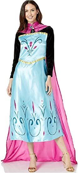 KIRALOVE Disfraz de Elsa Frozen - coronación - Capa - Disfraces de ...