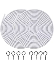 OOTSR Curtain Wires[2-Pack]