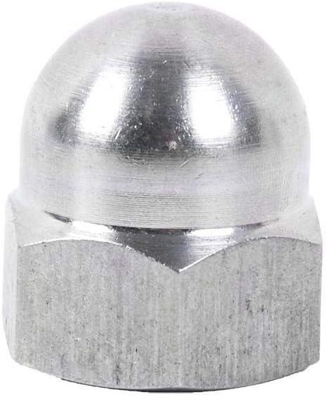 Mejora el acabado de tus proyectos Tuerca de bellota o de tapon ciego Bricolage Fresadora CNC DOJA Industrial PACK 25 TUERCAS CIEGAS Hexagonal M10 Tapones para tornillos de acero zincado