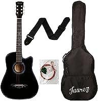 Juarez Acoustic Guitar 38 Inch Cutaway 038C With Bag String