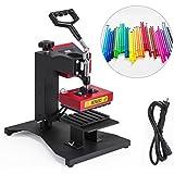 VEVOR Pen Heat Press 300W 6PCs Ballpoint Heat Transfer Machine 6IN1 Digital Pen Heat Press for DIY Pen Printing (6pcs Pen Press)