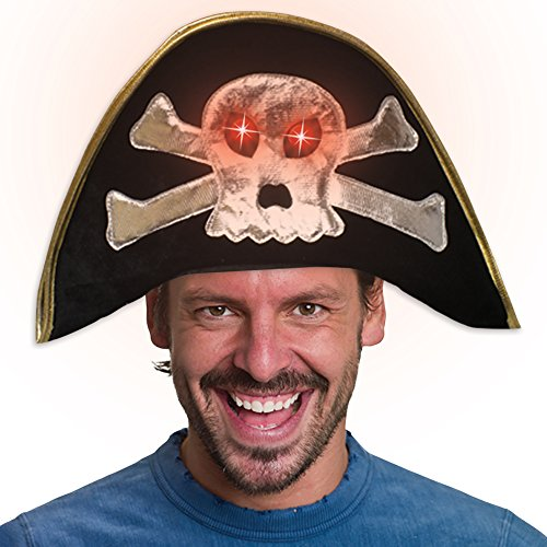 Light-up LED Pirate Hat -
