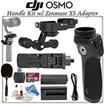 DJI OSMO Handle Kit with Zenmuse X5 Adapter & eDigitalUSA Cleaning Kit