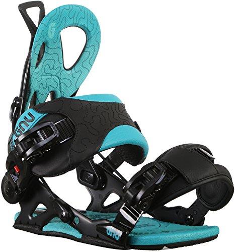 Gnu B-Forward Snowboard Bindings Womens Sz S ()