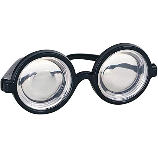 e3edb9449204b Image Unavailable. Image not available for. Color  Nerd Glasses Round ...