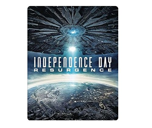 Independence Day 20th Anniversary Edition | Independence Day: Resurgence Limited Edition Steelbook Lot (Blu Ray + Digital HD)