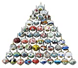 #1: IBA WITH WORD INDIANBEAUTIFULART Assorted Multicolor Ceramic Drawers Knobs Door Cupboard Pulls Indian Mix Knobs