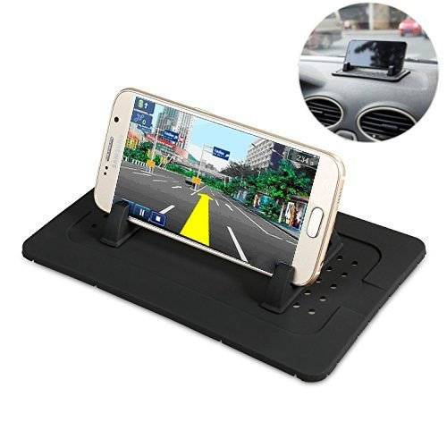 7a1f0d276efb60 Image Unavailable. Image not available for. Color: Car Mount Holder, Outtek  New Silicone Pad Dash Mat Cell Phone ...