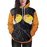 Photno Women's Hoodies Hoodie Sweatshirts Halloween Graphic Pullover Tops T Shirt Blouse 2018