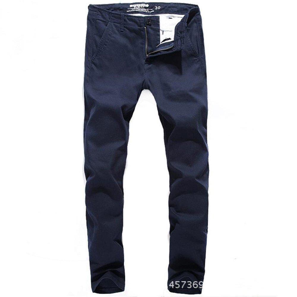 Dufjodi Hommes Hommes Occasionnel Occasionnel de Pantalons, Pantalons, Noir et Bleu, DirecteHommest Jean, Occasionnels,bleu,Trente - Trois