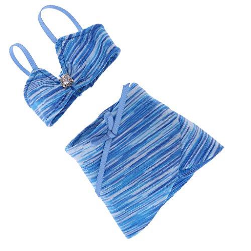Dovewill Trendy Swimsuit Swimwear Bikini Bathing Suit Costume