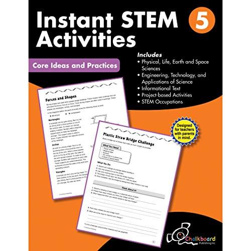 Creative Teaching Press CTP8197 STEM Instant Activities Workbook, Grade 5